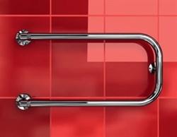 """P-1 1/4"""" DVEEN (ДВИН) Полотенцесушитель модель P, труба из нержавеющей стали, водяной - фото 4522"""