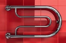 """Фокстрот B 1"""" DVEEN (ДВИН) Полотенцесушитель модель B, труба из нержавеющей стали, водяной - фото 4526"""