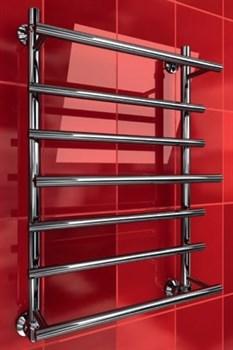 """Лесенка Q Primo 1"""" DVEEN (ДВИН) Полотенцесушитель модель Q Primo, труба из нержавеющей стали, водяной - фото 4613"""