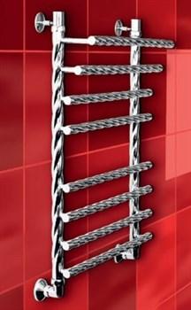 """Лесенка F Braid 1"""" DVEEN (ДВИН) Полотенцесушитель модель F Braid, труба из нержавеющей стали, водяной - фото 4667"""