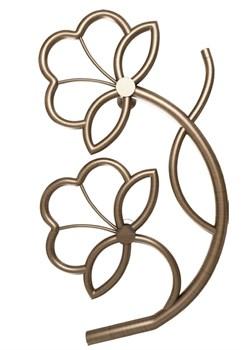 Модель Flower DVEEN (ДВИН) Полотенцесушитель дизайн Flower, труба из нержавеющей стали, водяной - фото 4722