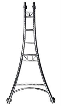 Модель EIFFEL Tower DVEEN (ДВИН) Полотенцесушитель дизайн EIFFEL Tower, труба из нержавеющей стали, водяной - фото 4724