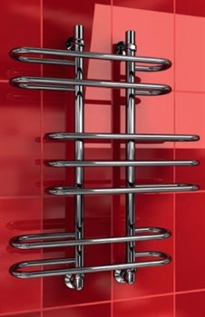 """Лесенка Z 1"""" DVEEN (ДВИН) Полотенцесушитель модель Z, труба из нержавеющей стали, водяной - фото 4732"""