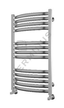 Полотенцесушитель модель Палермо Терминус, труба из нержавеющей стали, водяной - фото 4954