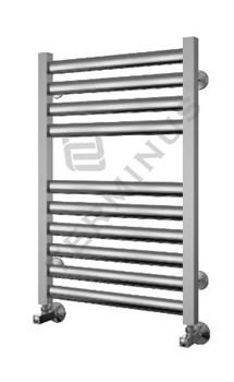 Полотенцесушитель модель Грета Терминус, труба из нержавеющей стали, водяной - фото 4957