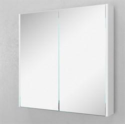 Зеркало-шкаф VELVEX Klaufs 80 см с двумя дверцами с зеркалом - фото 5976