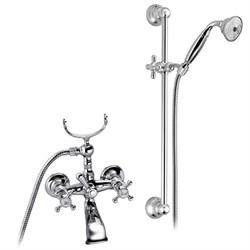 PALAZZANI Adams смеситель для ванны с душевым гарнитуром - фото 6242