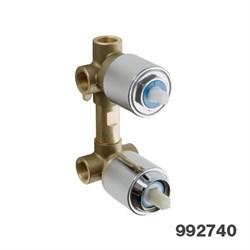 PALAZZANI встроенная часть для смесителя на 3 потребителя - фото 6391