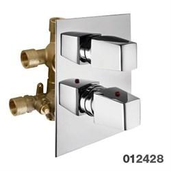 PALAZZANI Mis встроенный термостатический смеситель на 3 потребителя - фото 6688