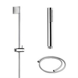 PALAZZANI Idrotech stick душевой гарнитур 1 режим шланг 1500 мм штанга 820 мм - фото 6760