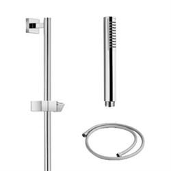 PALAZZANI Idrotech stick душевой гарнитур 1 режим шланг 1500 мм штанга 610 мм - фото 6794