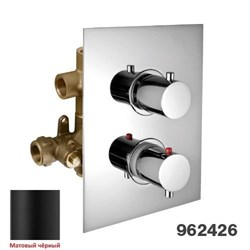 """PALAZZANI Idrotech\Digit, встроенный термостатический смеситель на 3 потребителя, 1\2"""", комплект - фото 6923"""