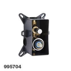PALAZZANI PBox встроенная часть для смесителя на 2 потребителя - фото 7743