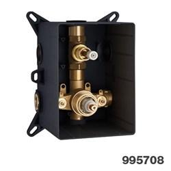 PALAZZANI PBox встроенная часть для термостатического смесителя на 1 потребитель - фото 9745