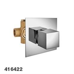 PALAZZANI Track встроенный керамический переключатель на 2 потребителя - фото 9757