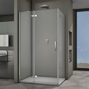 VECONI RV-064 Душевой уголок прямоугольный с распашными дверями, размер 120х100 см