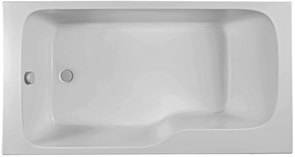 JACOB DELAFON Bain-Douche Malice Ванна прямоугольная 170 х 90 см, левосторонняя.
