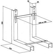 JACOB DELAFON Toilet Elements Металлическая опорная рама