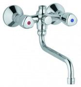 KLUDI Standard универсальный смеситель для ванны (без душ.гарнитура), длина излива 250 мм