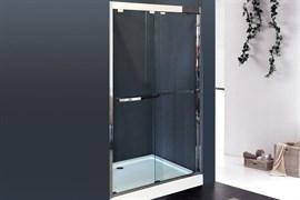 ROYAL BATH RB-F-2011 120 Дверь душевая, стекло 8 мм прозрачное, профиль нержавеющая сталь зеркальный глянец, дверь раздвижная