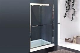 ROYAL BATH RB-F-2011 140 Дверь душевая, стекло 8 мм прозрачное, профиль нержавеющая сталь зеркальный глянец, дверь раздвижная