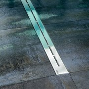 RAVAK OZ Runway Сточный душевой канал с решеткой из нержавеющей стали с легким доступом для чистки, размер: 30, 75, 85, 95, 105 см.