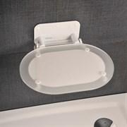 RAVAK Унивеpсальное сиденье для душа CHROME CLEAR/WHITE