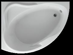 AQUATEK Альтаир Акриловая ванна на каркасе, слив-перелив в комплекте, без панели. Левая ориентация
