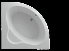 AQUATEK Калипсо Акриловая ванна на каркасе, слив-перелив в комплекте, без панели.