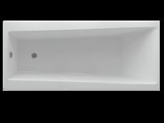 AQUATEK Либра NEW Акриловая ванна на каркасе, слив-перелив в комплекте, без панели.
