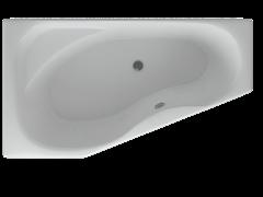 AQUATEK Медея  Акриловая ванна на каркасе, слив-перелив в комплекте, без панели. Левая ориентация