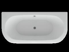 AQUATEK Морфей Акриловая ванна на каркасе, слив-перелив в комплекте, без панели.