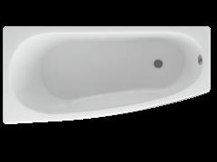 AQUATEK Пандора  Акриловая ванна на каркасе, слив-перелив в комплекте, без панели. Левая ориентация