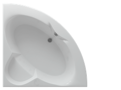 AQUATEK Поларис Акриловая ванна на каркасе, слив-перелив в комплекте, без панели.