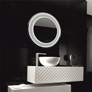 "CONTINENT Зеркало ""Mars LED"" D 770 c подсветкой"