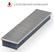 WARMES HAUS Конвектор без вентилятора водяной внутрипольный KWH с решеткой L-2400 мм