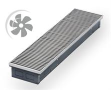 WARMES HAUS Конвектор с вентилятором водяной внутрипольный KWHV с решеткой L-3400 мм