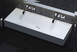 SALINI 120 SONATA_solix Раковина накладная из литьевого композита SOLIX