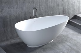 SALINI 160 PAOLA Ванна отдельностоящая из литьевого камня