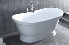 SALINI 174 ETTORA Ванна отдельностоящая из литьевого камня