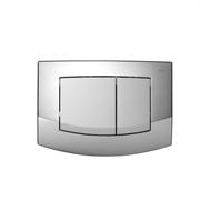 TECEambia, панель смыва с двумя клавишами, рамка-хр. глянец, клавиши-хр. матовый