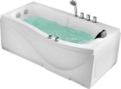 GEMY 173x83 Ванна акриловая гидромассажная, высота 64 см