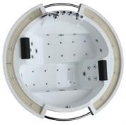 GEMY 210x210 Ванна акриловая гидромассажная, высота 87 см