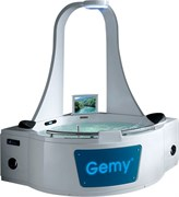 GEMY 170x170 Ванна акриловая гидромассажная, высота 225 см