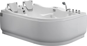 GEMY 180x121 Ванна акриловая гидромассажная, высота 73 см