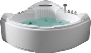 GEMY 152x152 Ванна акриловая гидромассажная, высота 78 см