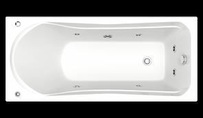 Гидромассажная ванна Bas Мальта 170х750