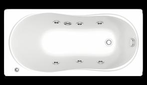 Гидромассажная ванна Bas Тесса 140х70