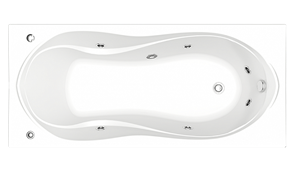 Гидромассажная ванна Bas Ямайка 180х80