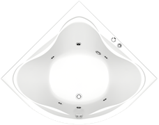 Гидромассажная ванна Bas Риола 135х135